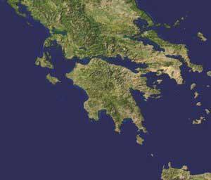 Peloponnes Karte Regionen.Peloponnes
