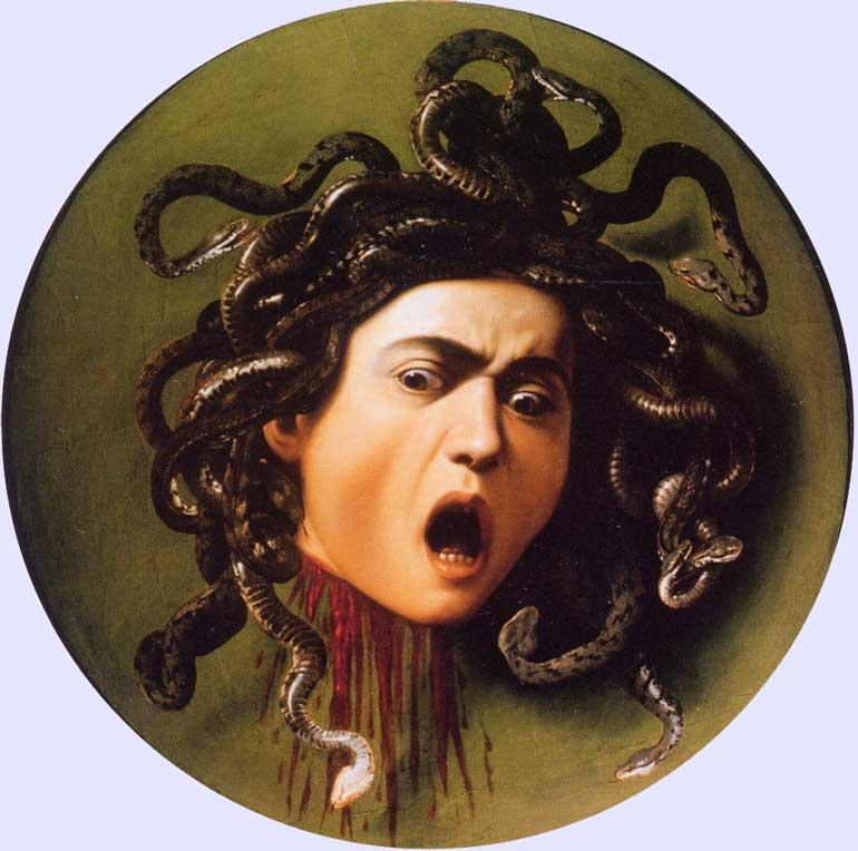 medusa caravaggio medusa ist der name zweier gestalten der ...