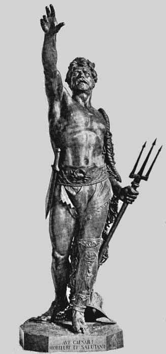 Bild; Quelle: http://www.hellenica.de/Rom/LX/GladiatorPioWelouski.jpg